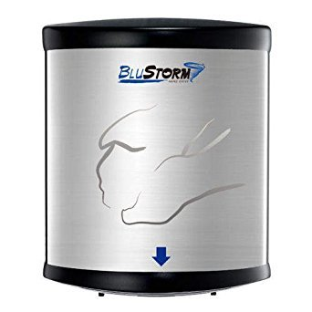Blue Storm High Speed Hand Dryer by Palmer Fixture (Best Electric Dryer For The Money)