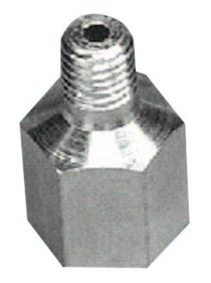 Alemite 51942 Adapter, 1/4''-28 SAE-LT Taper Thread(m) x 1/8'' Female NPTF