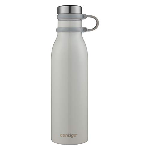 Contigo Couture Vacuum-Insulated Stainless Steel Water Bottle, 20 oz, Metallic Oyster