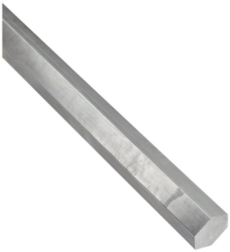 316L Stainless Steel Hex Bar, Unpolished (Mill) Finish 7/16