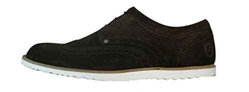 Base London Ride Mens Leather Suede Shoes - Brown mZjSs