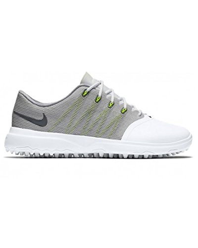 NIKE Women's Lunar Empress 2 Golf Shoes (8 B(M) US, White/Anthracite/Cool Grey)