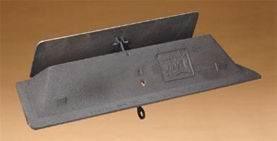 Chimney 26236 36 in. Vestal Cast-iron Fireplace Throat Damper (Fireplace Chimney Dampers)