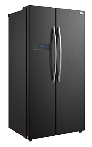 Russell Hobbs American Style Fridge freezer, 90cm wide, Side by Side, A+ efficiency, RH90FF176SS- 2 Year Warranty** (stainless steel)