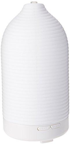 AromaFresh Ripple Handmade Ceramic Aromatherapy Essential Oil Diffuser, 100 ML