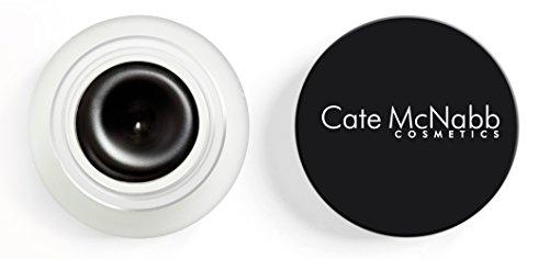 Cate McNabb Cosmetics Natural Mineral-Based Black Gel Eyeliner, Waterproof, 0.10 Ounce
