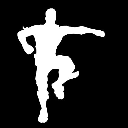 Decal Addiction Inc Dab Silhouette Fortnite White Vinyl