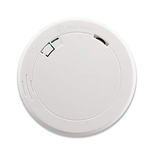 First Alert Slim Round Photoelectric Smoke Alarm
