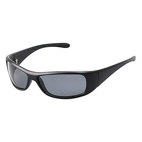 Gafas Color Gafas De de Deportes Pesca Sol Hombre De LBY De Sol Gafas Negro para Polarizadas Negro Ocasionales 4CUHqUS