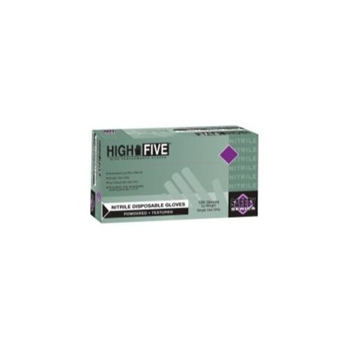 Lightly Powdered Industrial Nitrile Gloves