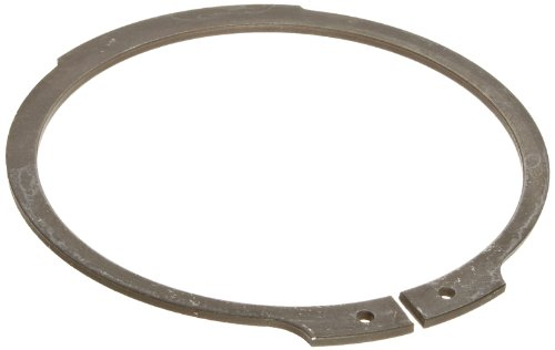 Standard External Retaining Ring, Tapered Section, Axial Assembly, 1060-1090 Carbon Steel, Phosphate Finish, 1-3/8'' Shaft Diameter, 0.05'' Thick, Made in US (Pack of 25) by Small Parts