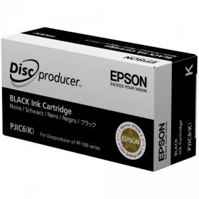 Epson DiscProducer PP-100/PP-50 C13S020452 Ink Cartridge (Black, 1-Pack) in Retail Packaging