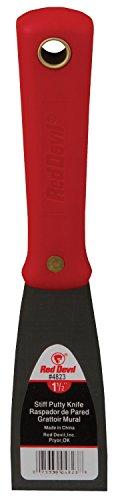 Red Devil 4823 1.5-Inch Stiff Putty Knife from Red Devil