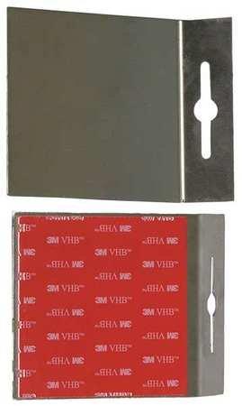Adhesive Plates Silver 500 Lb