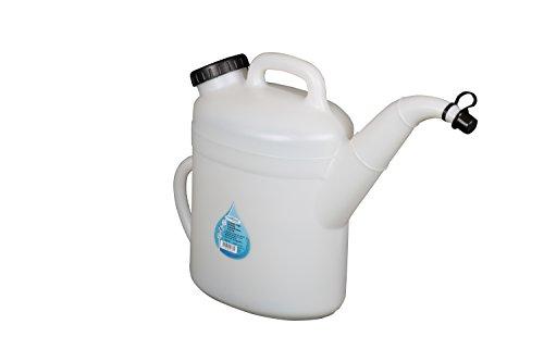 Oil Pitcher (WirthCo 32377 Funnel King High Density Polyethylene Pitcher - 10 Liter Capacity)