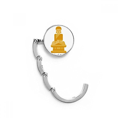 Korea Big Buddha Table Hook Folding Bag Desk Hanger Foldable Holder