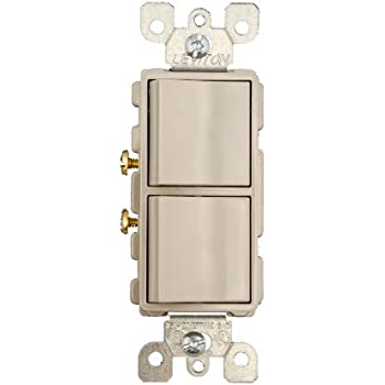 leviton 5634 e 15 amp 120 277 volt decora single pole ac leviton 5634 gy 15 amp 120 277 volt decora brand style single pole ac combination switch commercial grade grounding gray