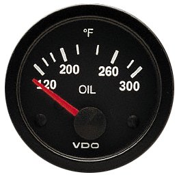 VDO 310-106D 300 Oil Temp Gauge by VDO