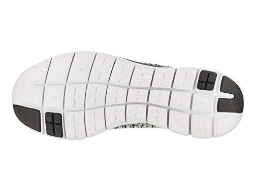 2 insights Sneaker Flex Donna Appeal Skechers black White 0 Infilare PwqExggI