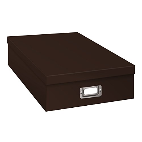 Pioneer Jumbo Scrapbook Storage Box, Cocoa Brown