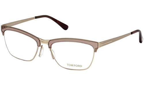 TOM FORD Women FT 5392 050 AI MATTE GOLD BEIGE 54mm