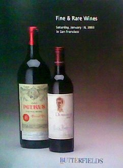2003 Merlot Wine - Fine and Rare Wines (January 18, 2003)