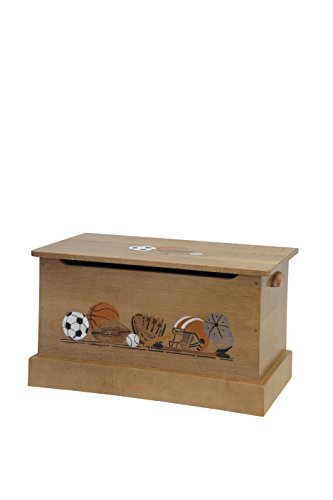 """Amish-Made, Handcrafted Children's Wooden 30"""" Toy Box -"""