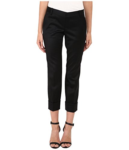 DSQUARED2 Women's Gaenor Billy Pants, Black, 44 (US 28/29) X 27