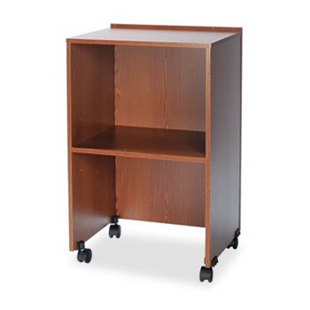 Safco® Mobile Lectern Base/Media Cart, 21-1/4w x 17-1/2d x 33-3/4h, Medium ()