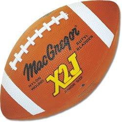 MacGregor X2J Junior Football - Rubber Sold Per (Macgregor X2j Junior Football)