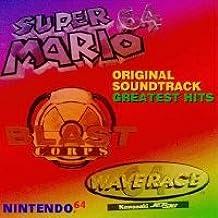 N64 Greatest Hits from: Super Mario 64, Blast Corps, Killer Instinct Gold Soundtrack CD