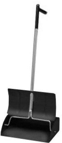 Continental 808L, Black L-Handle Metal Lobby Dust Pan (Case of 1) ()