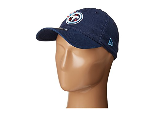 New Era Men's Tennessee Titians 9TWENTY Core Blue Hat