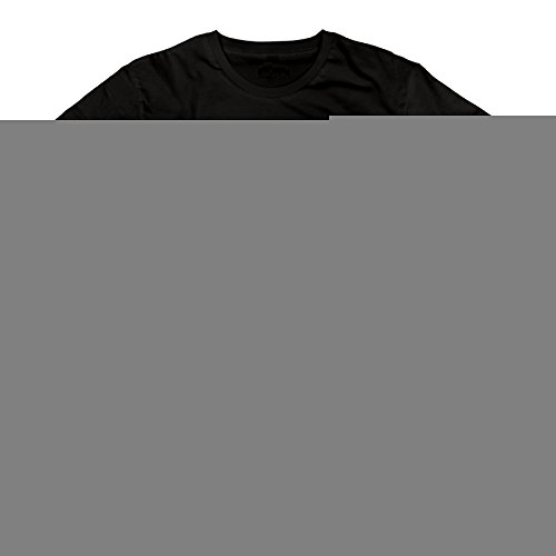 Men's Santa Skull With Christmas Hat Short-Sleeve T-shirt Black XXL (Skin And Bones Set)