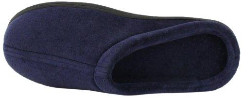 Tempur-pedic Klassieke Fluwelen Pantoffels, Zijn / Haar Blauw