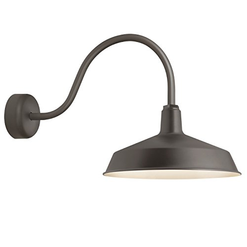Troy RLM RS16MTBZ3LL23 Standard Outdoor Wall Sconce, Textured ()