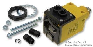 BANNER ENGINEERING Q45BB6FQ5 Q45 Series: Infrared Glass Fiber Optic, Range: Depends ON Fiber, Input: 10-30V DC, Output: Bipolar: 1 NPN, 1 PNP, Quick-Disconnect Connector