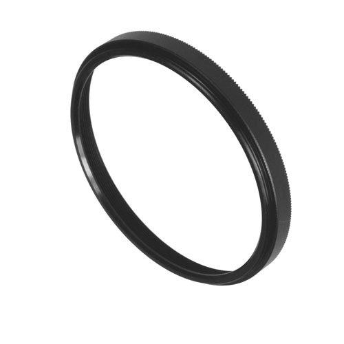 Fotodiox Metal Spacing Ring Filter Adapter, Anodized Black Aluminum 77-77mm ()