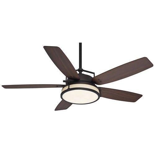 Casablanca 59114 Caneel Bay 56'' Outdoor Ceiling Fan with Light & Wall Control, Maiden Bronze
