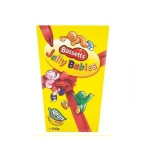 - Bassetts Jelly Babies Carton 400g - Pack of 4