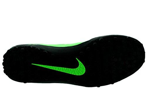 NikeHypervenom Phelon II TF - zapatillas de fútbol Hombre - verde y negro