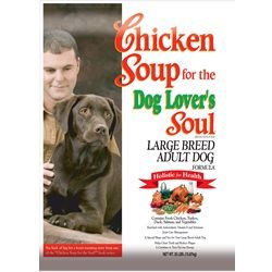 Chicken Soup for the Dog Lover's Soul Large Breed Adult Dog Formula 35-lb bag, My Pet Supplies