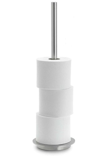 Blomus Toilet Roll Holder, Holds 4 rolls, pole