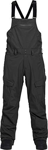 Burton Reserve Bib Gore-Tex Snowboard Pants True Black Mens Sz S -