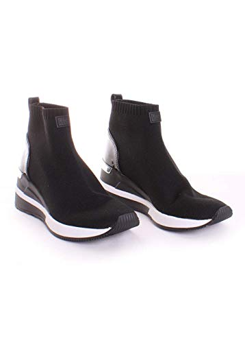 Michael Kors Skyler Knit Sneakers Black (Mens Sneakers Kors Michael)