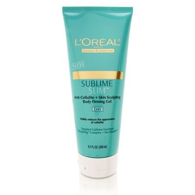 L'Oreal Sublime Slim Anti-Cellulite Skin Sculpting Body Firming Day Gel 200ml/6.7oz by L'Oreal Paris L'Oreal
