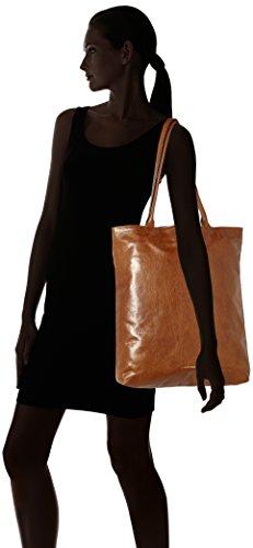 Royal RepubliQ Essential Tote, Borse a spalla Donna Marrone (Hazel Brown)