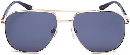 "PRIVE REVAUX ""The Dealer"" Handcrafted Designer Polarized Aviator Sunglasses"