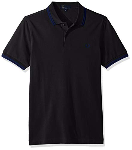 Twin medievalbl Fp Fred Black Uomo Tipped Perry Polo FgqOqwUE