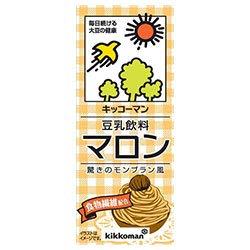 キッコーマンの豆乳飲料シリーズでカロリーが低い方に分類されるマロン味